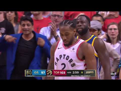Astonishing final 5 mins of 2019 NBA Finals Game 5 Golden State Warriors vs Toronto Raptors