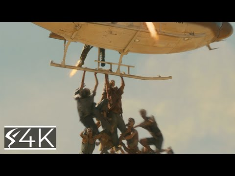 Zombies (4K) Get To The Plane : World War Z