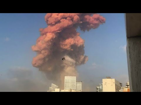 Huge bomb blast lebnan 2020 -Lebanon's PM says responsible for Beirut explosion will pay the price