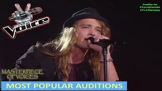 Video MOST POPULAR AUDITIONS ON THE VOICE [PART 1] MP3, 3GP, MP4, WEBM, AVI, FLV Januari 2019