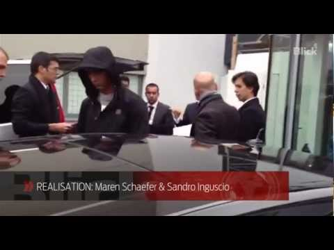 Fifa-Gala: Ronaldo kommt in Zürich an