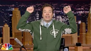 Jimmy Fallon's Hands High Jets Zip Up Sweatshirt