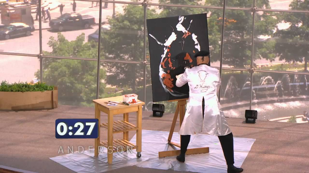 Best Speed Painting- Got Talent Show