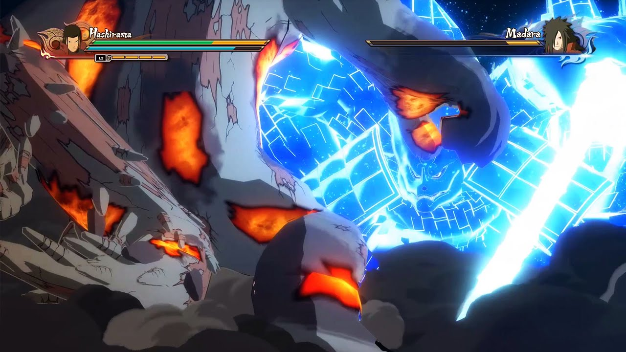 Naruto SUN Storm 4 Gameplay (PS4 / Xbox One) #VideoJuegos #Consolas