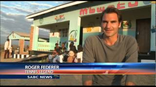 Tennis legend, Roger Federer, of Switzerland was in Malawi for the first time this week, to visit a welfare centre that is assisted by his charity. The M'bwetu ...