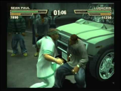 Def Jam Fight for NY - Sean Paul vs Ludacris at the Demolition Match