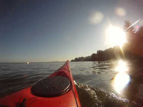 Necky Chatham 16 Morning Paddle