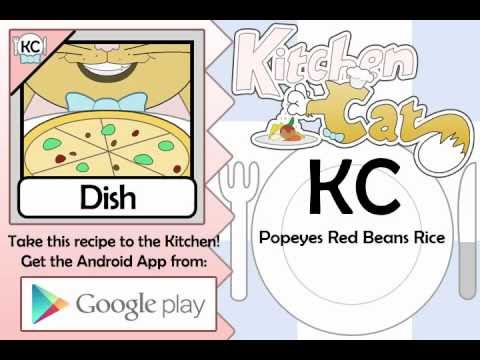 Video of KC Popeyes Red Beans Rice