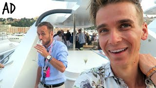 ►I went to Monaco and stayed on a SUPER YACHT ►For more content from F1 have a lil look at Williams Martini Racing instagram! - http://bit.ly/WilliamsMartiniRacing ►MERCH! - www.sugglife.com►PRE ORDER USERNAME:UPRISING NOW! (or when you get a chance if you're keen) ►WHSmith *Signed*: https://www.whsmith.co.uk/products/username-uprising-signed-edition/9781473666047►Amazon *Not Signed*: https://www.amazon.co.uk/dp/1473663318/ref=sr_1_2?ie=UTF8&qid=1488361664&sr=8-2&keywords=username+uprising►Australia: http://www.booktopia.com.au/username-uprising-joe-sugg/prod9781473663329.html;jsessionid=+ZkBt8A+YmAZ3grvjLnDiR0v►New Zealand: http://www.whitcoulls.co.nz/username-03-uprising-pre-order-6233722►This video contains paid for advertorial by Williams Martini