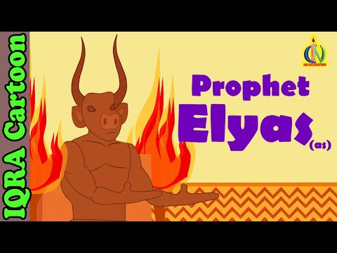 Elyas (AS) | Elijah (pbuh) - Prophet Story - Ep 21 (Islamic Cartoon - No Music)
