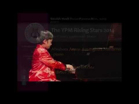 YPM Rising Stars 2014 - Abraham Aruna Astungkara Mardjono - Piano