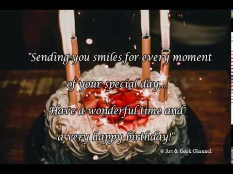 Birthday quotes - Special Happy Birthday  Birthday Wishes  Birthday Song  whatsapp happy birthday status video
