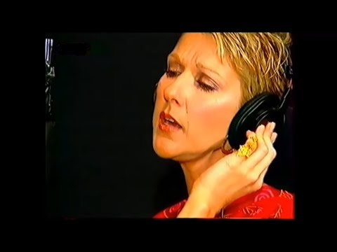 Celine Dion RARE - ENGL SUB - 1 fille & 4 types - Recording studio with Jean-Jacques Goldman