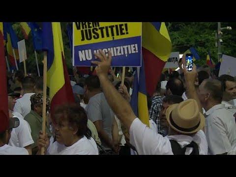 Rumäniens Regierung organisiert