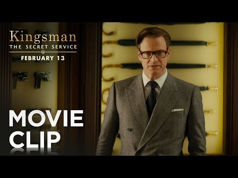 Kingsman: The Secret Service (Clip 'Weapons Cache')