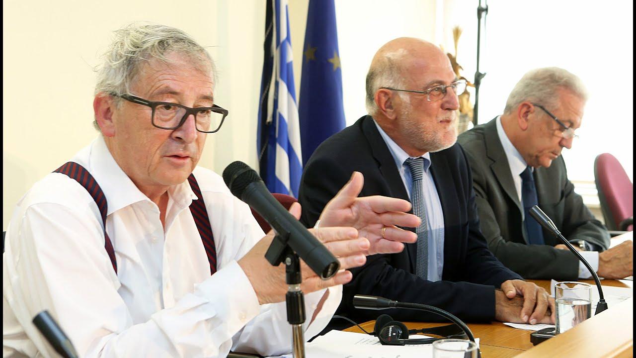 Επίσκεψη του Ζαν Κλοντ Γιούνκερ στην ΟΚΕ