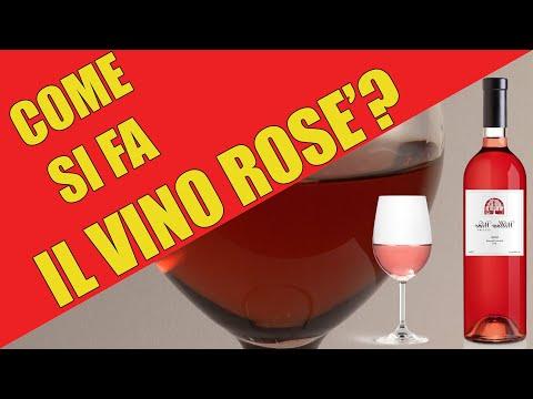 Come si produce il vino rosato o rosé?