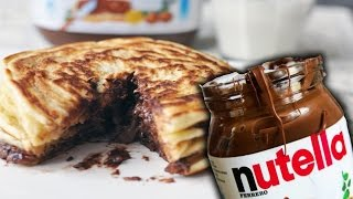How To Make Nutella Pancakes