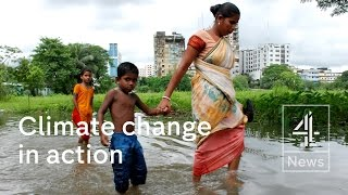 Bangladesh is the country most vulnerable to climate change. World leaders are trying to agree to limit the rise in global temperatures to two degrees by 205...