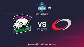 Virtus.pro vs  coL, ESL  One Hamburg, bo2, game 2 [Lex & 4ce]