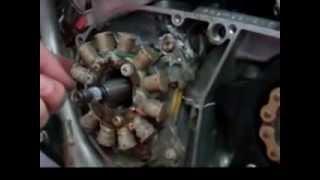 8. RaceTech Electric Yamaha Banshee DC Stator & Regulator Kit Installation