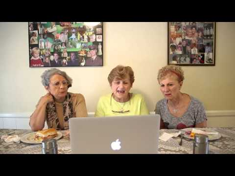 HELLA FUNNY: GRANDMA'S READ THE LYRICS TO