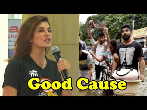 Jacqueline Fernandez Stands For Good Cause By Fund