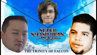 The Trinity of Falcon | SSBM Captain Falcon Showcase [S2J, N0ne, Wizzrobe]