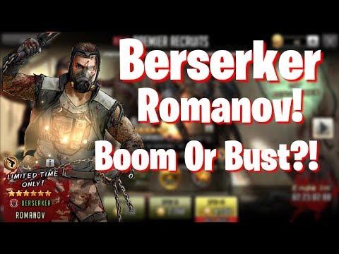 TWD RTS: Berserker Romanov - Boom or Bust?!