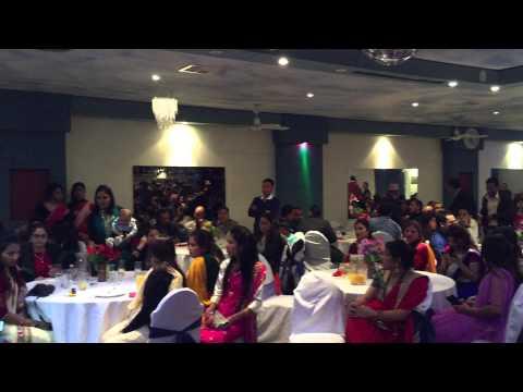 (Ishwor Pokhrel Galkot Samaj fundraising dinner - Duration: 0:43.)