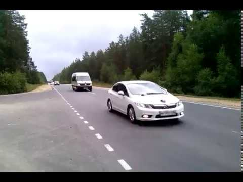 Видео Свадебный кортеж Mazda 6