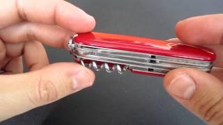 Victorinox Huntsman Knife review.