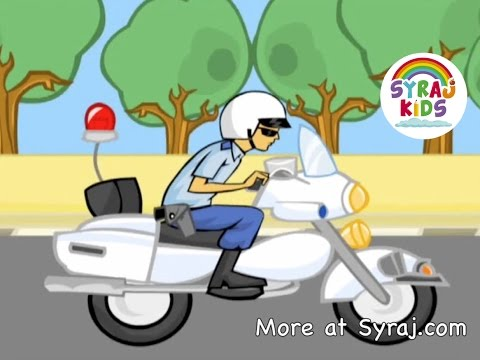 Polizei und Verkehrssicherheit - Arabische Vokabeln