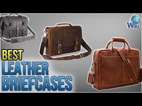 10 Best Leather Briefcases 2018
