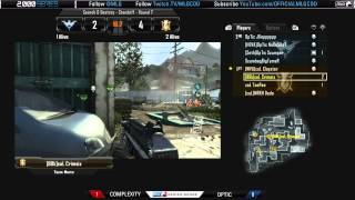 Optic vs Complexity Finals - Game 2 - MLG Play 2000 Series