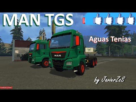 MAN TGS Aguas Tenias v1.0