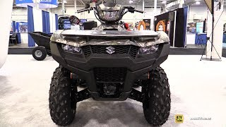 7. 2020 Suzuki KingQuad 750 Recreational ATV - Walkaround - 2019 Toronto ATV Show