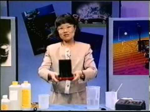 沖洗黑白菲林 Black and White Negative Development demonstrated in Chinese/Cantonese