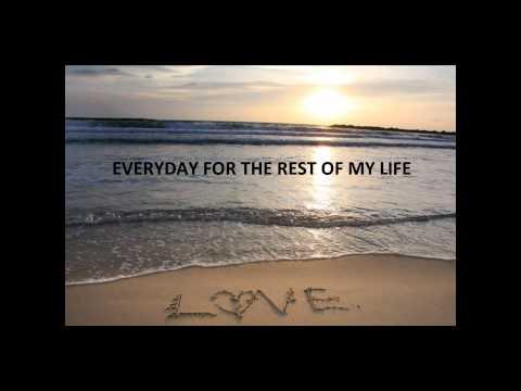 Good morning my love - Jake Owen - Kiss You Good Morning (on screen lyrics)