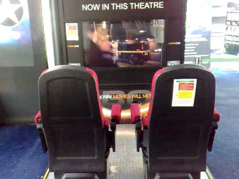 Liverpool One  ODEON Has Moving Cinema Seats. D-box MFX