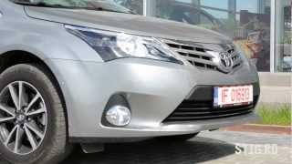 Test Drive: Toyota Avensis 2012 Sedan 1.8 Valvematic / 2.0 D-4D - Www.stig.ro