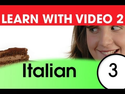 Top 20 Italienische Verben 1