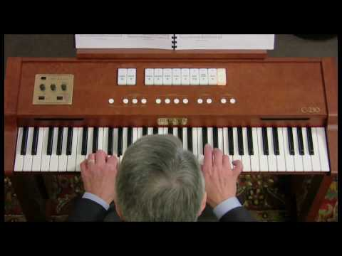 Roland Classic C230 Positive Organ demonstration by Hector Olivera