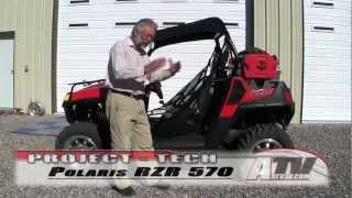 9. ATV Television - 2012 Polaris RZR 570 Project Part 2