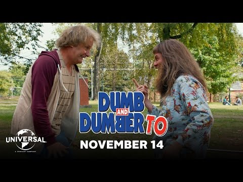 Theaters - Dumb And Dumber To - TV Spot 1 (HD) (Official) In Theaters November 14 http://www.dumblr.com/ Jim Carrey and Jeff Daniels reprise their signature roles as Ll...