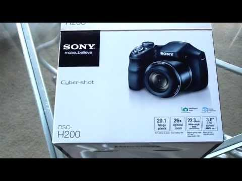 SONY CYBER SHOT DSC-H200 HANDS ON FULL REVIEW