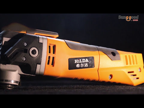 HILDA 220V 280W 11000-21000rpm Trimming Machine Electric Oscillating Power Tool