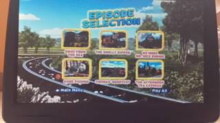Thomas and Friends: Spills and Thrills DVD Walkthrough (2014)