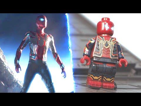 Lego Avengers Infinity War New York Battle Part 3 Unlock 17A Iron Spider suit Lego VS Movie