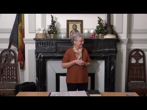 CDS Paris, 10 janvier 2019: Hélène Sejournet - Mémorisation de l'évangile